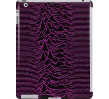 Pulsar waves - Black&Pink iPad Case/Skin