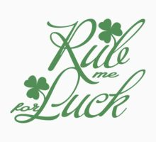 Rub me for luck Kids Clothes