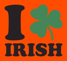 St. Patrick's day: I love Irish Kids Clothes