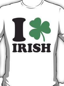 St. Patrick's day: I love Irish T-Shirt