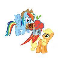 Appledash cutie mark Photographic Print