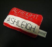 Name Badge by Ashleigh Barron