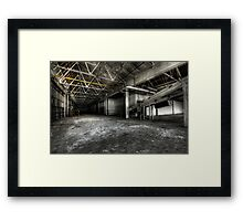 Production floor Framed Print