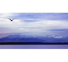 Seattle Puget Sound Photographic Print
