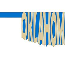 Oklahoma State Word Art by surgedesigns