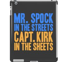 STAR TREK ORIGINAL  Mr. Spock Captain Kirk William Shatner Leonard Nimoy iPad Case/Skin