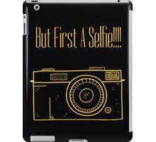 A Selfie iPad Case/Skin