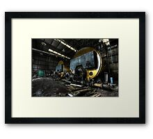 Warming Framed Print