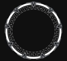 Stargate SG-1 by saturdaytees