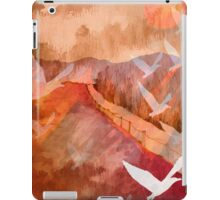 Gulls Overflying Downland iPad Case/Skin