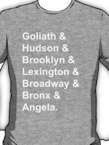 Gargoyles White Font T-Shirt