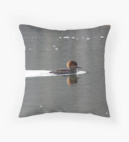 Merganser Throw Pillow