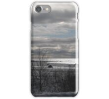 Winter on Lake Michigan iPhone Case/Skin