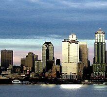 Seattle Skyline by oztiger