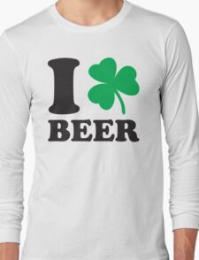 St. Patrick's day: I love Beer Long Sleeve T-Shirt
