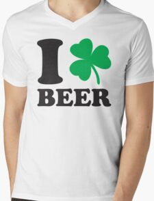St. Patrick's day: I love Beer Mens V-Neck T-Shirt
