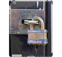 The Master Lock iPad Case/Skin