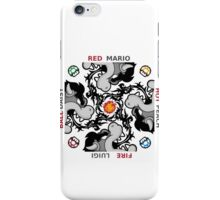 Red Hot Fire Ball iPhone Case/Skin