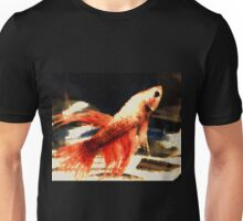 Half Red Betta Unisex T-Shirt