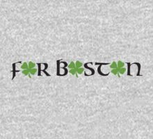 St. Patrick's day: For Boston Kids Clothes
