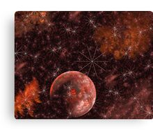 The Love Solar System Canvas Print
