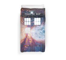 Deep Space Tardis Duvet Cover