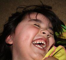 My growing giggling girl by Jennifer  Tate