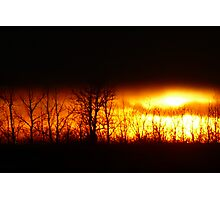Fire in the Sky!!! Photographic Print
