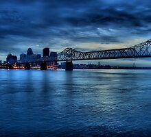 Louisville Skyline in HDR by ladywings