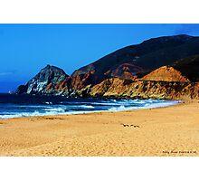 Half Moon Bay Cliffs Photographic Print
