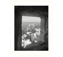 Dubrovnik Through The Old City Art Print