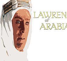 Lawrence of Arabia by Dav .
