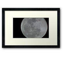 Moon Rise 002 Framed Print