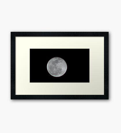 Moon Rise 003 Framed Print