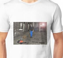 CSI Leather Jacket Investigation Unisex T-Shirt