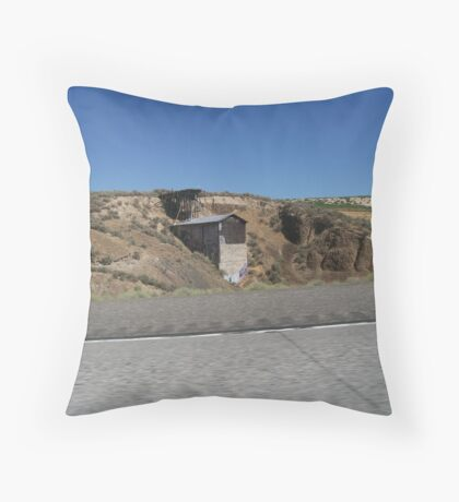 Highway Site Throw Pillow