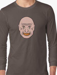 John Locke - Orange In Mouth - Lost Long Sleeve T-Shirt