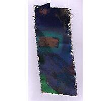 Piece 7 rectangle green. Photographic Print
