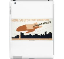 Home Safety iPad Case/Skin