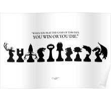 Win or Die - Game of Thrones Poster