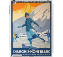 Mont Blanc Ice Skating iPad Case/Skin