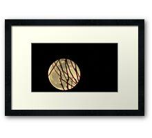 Moon Rise 011 Framed Print