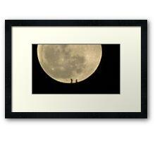 Moon Rise 012 Framed Print