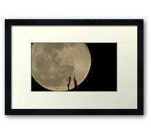 Moon Rise 013 Framed Print