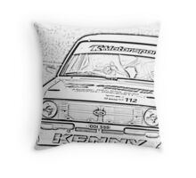 MK II   FORD  ESCORT Throw Pillow
