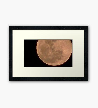 Moon Rise 017 Framed Print