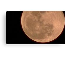 Moon Rise 017 Canvas Print