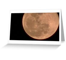 Moon Rise 017 Greeting Card