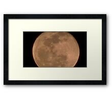 Moon Rise 018 Framed Print