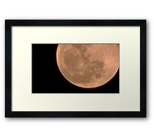 Moon Rise 019 Framed Print